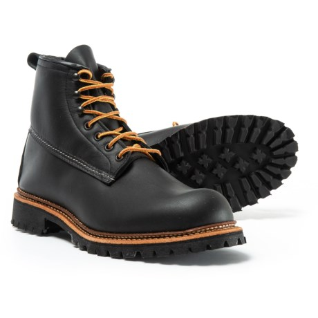 "Red Wing Shoes Red Wing Heritage Ice Cutter Boots - Leather, 6"", Factory Seconds (For Men)"