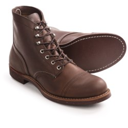 Red Wing Shoes Red Wing Heritage Iron Ranger Cap-Toe Boots - Leather, Factory 2nds (For Men) in Amber