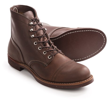 Red Wing Shoes Red Wing Heritage Iron Ranger Cap-Toe Boots - Leather, Factory 2nds (For Men)
