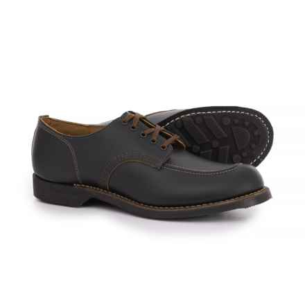 Red Wing Shoes Sport Leather Oxford Shoes - Factory 2nds (For Men) in Black Klondike - 2nds