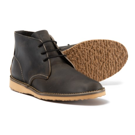 Red Wing Shoes Weekender Chukka Boots - Leather, Factory 2nds (For Men) in Charcoal R&T