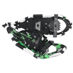 "Redfeather 2013 Race Snowshoes - 25"" in White/Green"