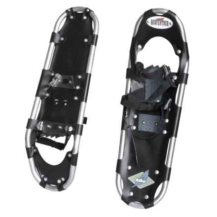 """Redfeather Hike Snowshoes - 25"""" in Silver/Black - Closeouts"""