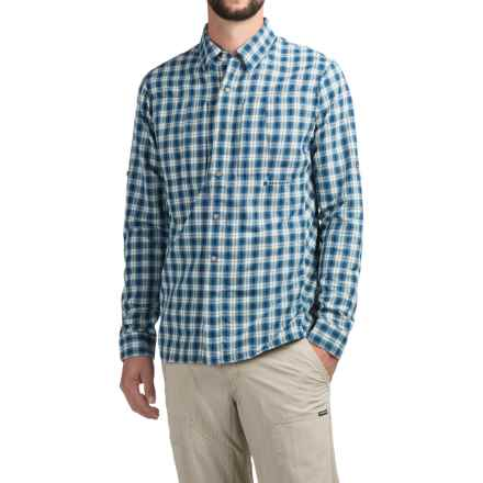 Redington Bora Guide Shirt - UPF 50+, Long Sleeve (For Men) in Slipstream - Closeouts