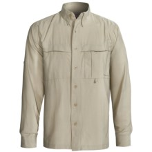 Redington Boundary Bay Shirt - UPF 40+, Long Sleeve (For Men) in Rock - Closeouts