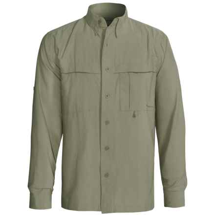 Redington Boundary Bay Shirt - UPF 40+, Long Sleeve (For Men) in Sage - Closeouts