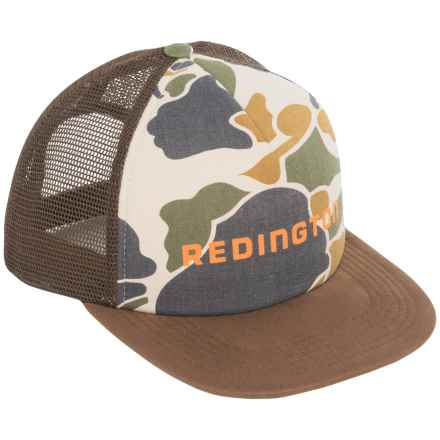 Redington Camo Foam Trucker Hat (For Men) in Camo/Bark - Closeouts