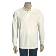 Redington Campbell River Polo Shirt - Long Sleeve (For Men) in Bone - Closeouts