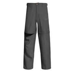 Redington Canyon Creek Convertible Pants - UPF 30+ (For Men) in Charcoal