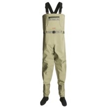 Redington Chena River Chest Waders - Breathable, Stockingfoot (For Women) in Dark Rock - 2nds