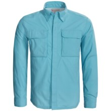 Redington Clearwater Shirt - UPF 30+, Long Sleeve (For Men) in Deciever Blue - Closeouts