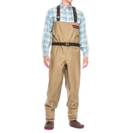 Redington Crosswater Chest Waders - Stockingfoot (For Men) in Grain - Closeouts