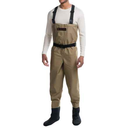 Redington Crosswater Chest Waders - Stockingfoot (For Men) in Tan - Closeouts