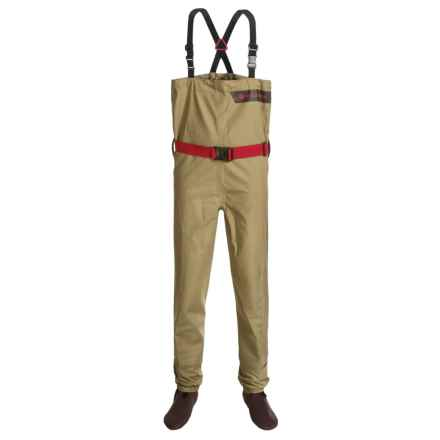 Redington Crosswater Fishing Waders - Stockingfoot (For Youth) in Grain - Closeouts