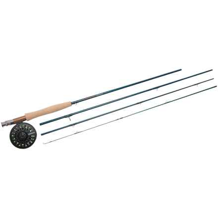 Redington Crosswater Rod and Reel Outfit - 4-Piece in See Photo - Closeouts