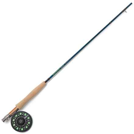 """Redington Crosswater Youth Rod and Reel Outfit - 4-Piece, 8'6"""" in See Photo - Closeouts"""