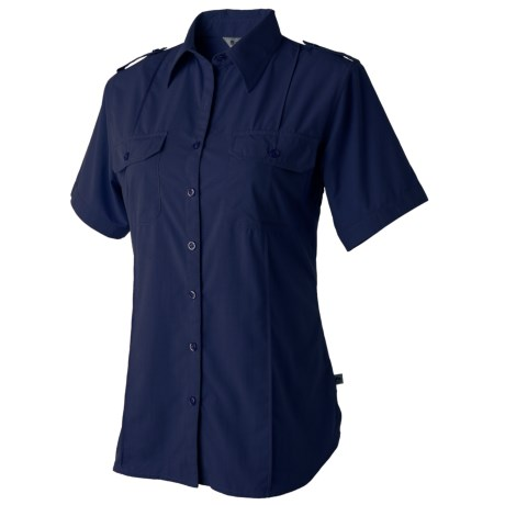 Redington Damselfly Shirt - UPF 30+, Short Sleeve (For Women) in Abyss