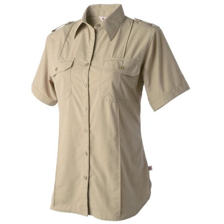 Redington Damselfly Shirt - UPF 30+, Short Sleeve (For Women) in Canvas