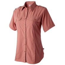 Redington Damselfly Shirt - UPF 30+, Short Sleeve (For Women) in Rose Dust - Closeouts