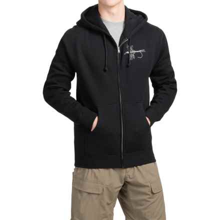 Redington Electric Mayfly Hoodie (For Men) in Stealth Jet - Closeouts