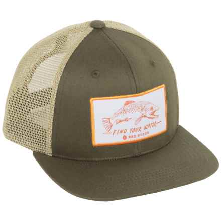 Redington Find Your Water Trucker Hat (For Men) in Rockbed - Closeouts