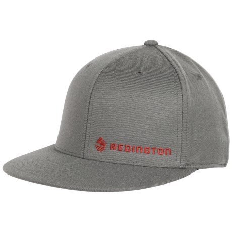 Redington fly fishing flexfit flatbill hat flat bill cap for Flat bill fishing hats