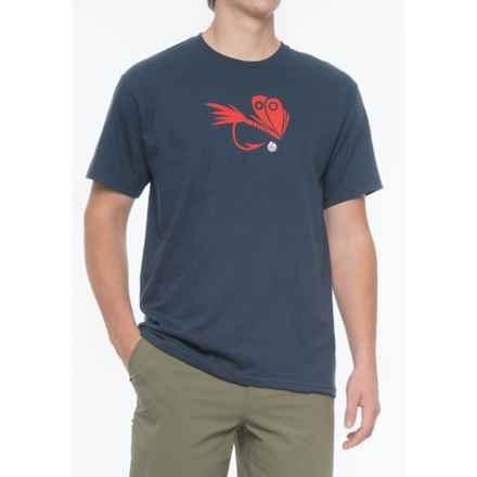 Redington Fly T-Shirt - Short Sleeve (For Men) in Dark Knight - Closeouts