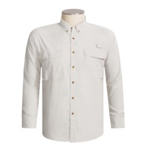 Redington Gasparilla Dri-Block Fishing Shirt - UPF 30+, Long Sleeve (For Men) in Bone - Closeouts