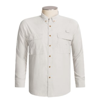 Redington Gasparilla Dri-Block Fishing Shirt - UPF 30+, Long Sleeve (For Men) in Bone