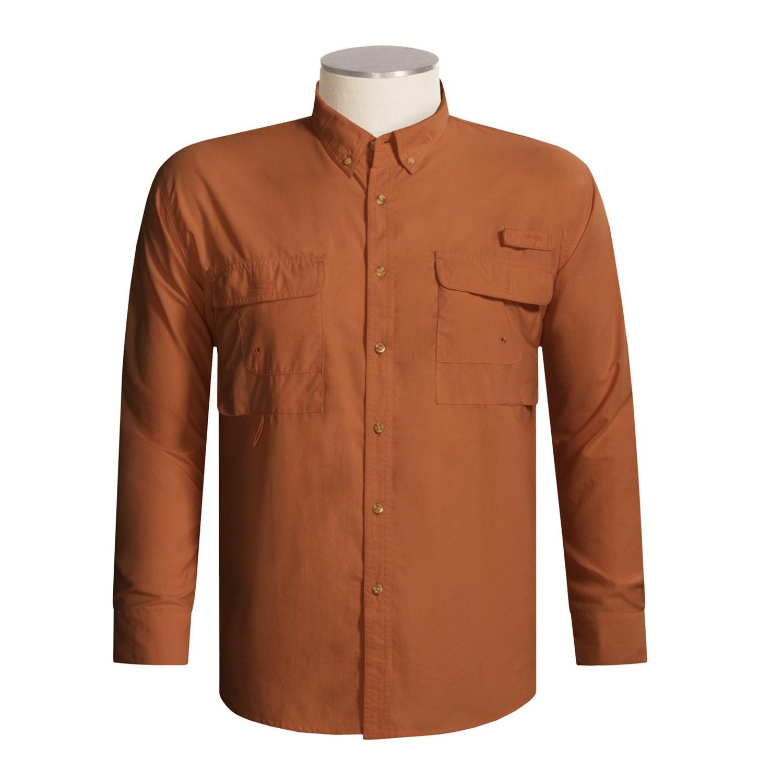 Redington gasparilla dri block fishing shirt upf 30 for Fly fishing sun shirt