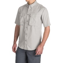 Redington Gasparilla Fishing Shirt - UPF 30+, Short Sleeve (For Men) in Birch - Closeouts