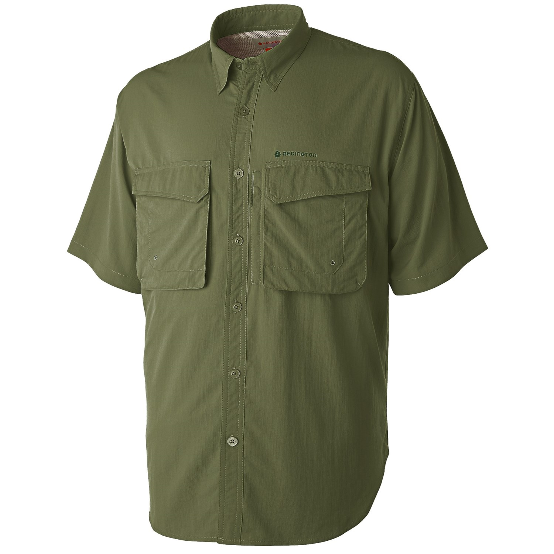 Redington Gasparilla Fishing Shirt Upf 30 Short Sleeve