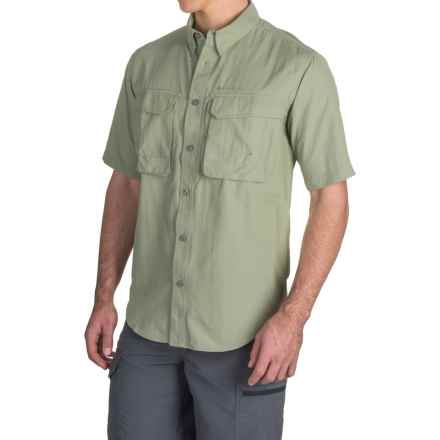 Redington Gasparilla Fishing Shirt - UPF 30+, Short Sleeve (For Men) in Thistle - Closeouts