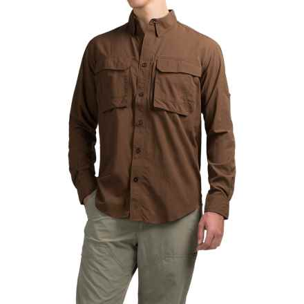 Redington Gasparilla Fishing Shirt - UPF 50, Long Sleeve (For Men) in Barley - Closeouts