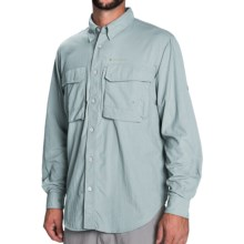 Redington Gasparilla Fishing Shirt - UPF 50, Long Sleeve (For Men) in Sea Glass - Closeouts
