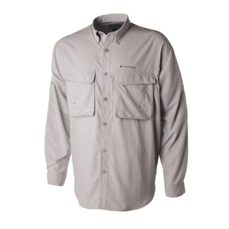 Redington Gasparilla Shirt - UPF 30, Long Sleeve (For Men) in Grey Gull