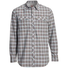 Redington Grizzly Plaid Shirt - UPF 50+, Long Sleeve (For Men) in Firestone Plaid - Closeouts