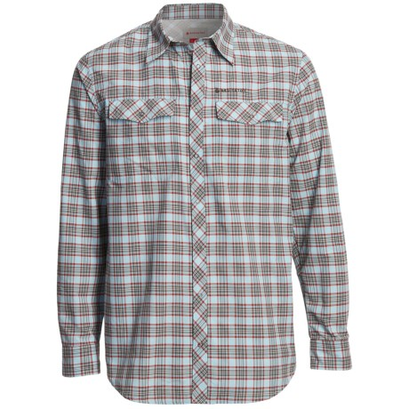 Redington Grizzly Plaid Shirt - UPF 50+, Long Sleeve (For Men) in Firestone Plaid