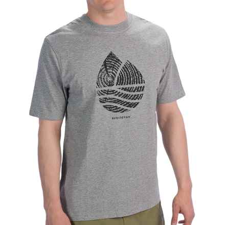 Redington Icon T-Shirt - Short Sleeve (For Men) in Medium Heather Grey - Closeouts
