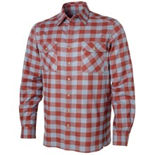 Redington Langford Flannel Shirt - Long Sleeve (For Men) in Red Clay - Closeouts