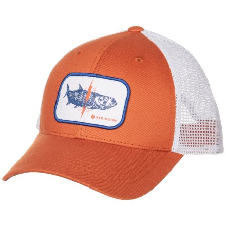 a8ac988934afe Redington Lightning Tarpon Trucker Hat (For Men) in Rust - Closeouts