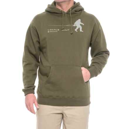 Redington Locals Only Hoodie (For Men) in Olive - Closeouts