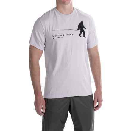 Redington Locals Only T-Shirt - Short Sleeve (For Men) in Grey Gull - Closeouts