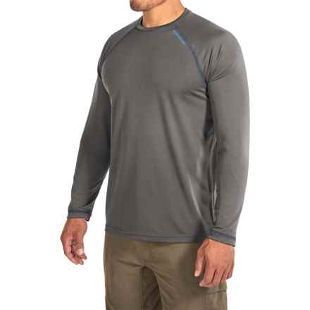 Redington Lost River T-Shirt - UPF 30+, Long Sleeve (For Men) in Titanium - Closeouts