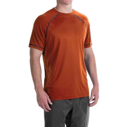 Redington Lost River T-Shirt - UPF 30+, Short Sleeve (For Men) in Rust - Closeouts