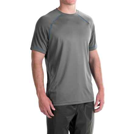 Redington Lost River T-Shirt - UPF 30+, Short Sleeve (For Men) in Titanium - Closeouts