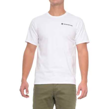 Redington Old School T-Shirt - Crew Neck, Short Sleeve (For Men) in White - Closeouts