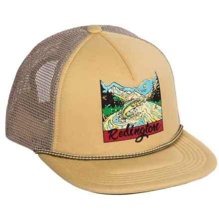 Redington Old School Trucker Hat (For Men) in Buckskin - Closeouts