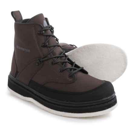 Redington Palix River Wading Boots - Felt Sole (For Men) in Basalt - Closeouts