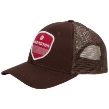 Redington Patch Trucker Hat (For Men and Women) in Coffee - Closeouts